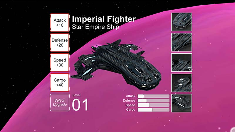 Final Frontier: Upgrades e Save Game